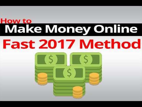 How To Make Money Online with PayPal $5-$20 A Day! 2017