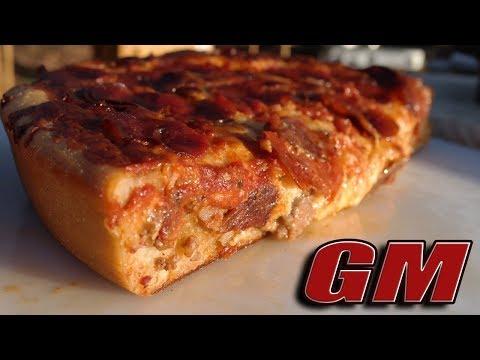 Dutch Oven Pizza The Meatza!
