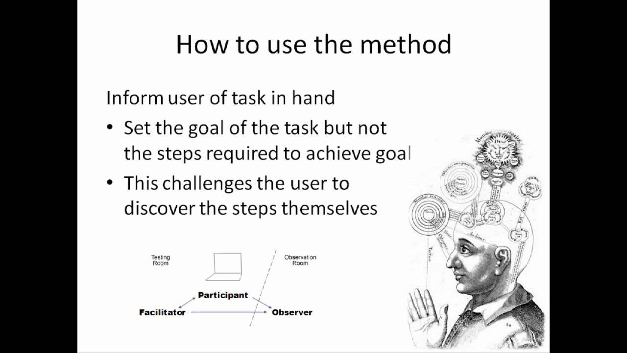think aloud protocol - YouTube