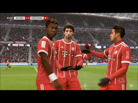 FIFA 18 - Custom Tactics - Jupp Heynckes Bayern Munich (With Gameplay and Post Match Analysis)