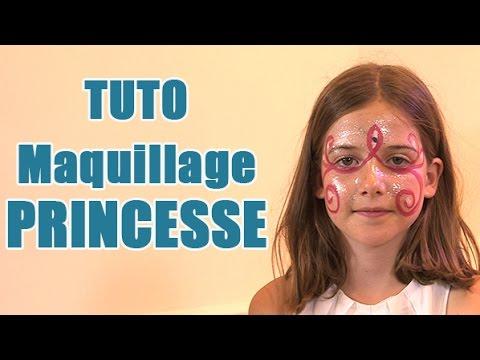 carnaval maquillage de princesse pour enfant youtube. Black Bedroom Furniture Sets. Home Design Ideas