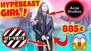 WIE VIEL IST DEIN OUTFIT WERT ?💰🔥 HYPEBEAST GIRL 💰🔥| STREET UMFRAGE | ITS LION