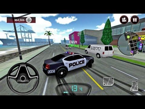 Drive For Speed Simulator #13 POLICE CAR UNLOCKED - Android Gameplay