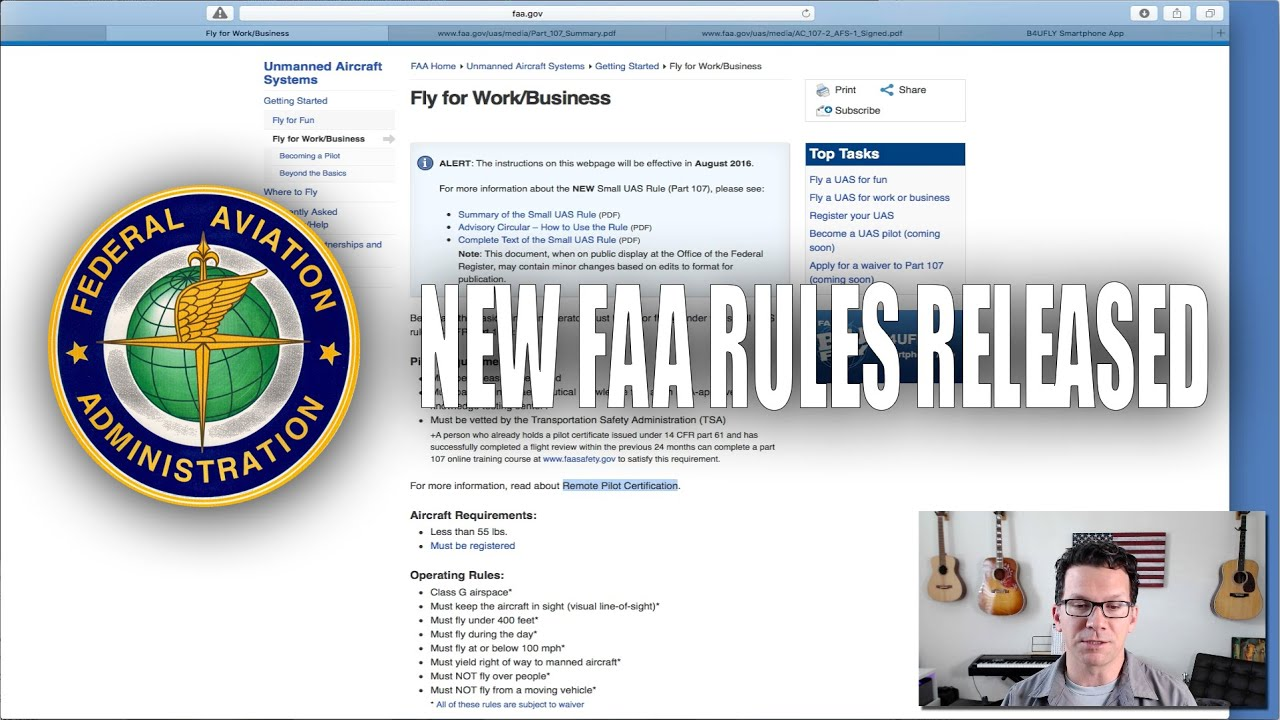 Commercial Drone Use Update - FAA Part 107 - UAS ...