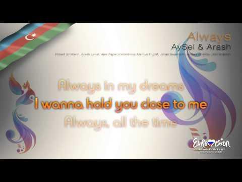 """AySel & Arash - """"Always"""" (Azerbaijan) - [Karaoke version]"""