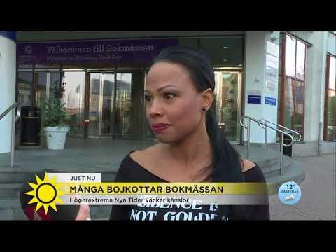 """Alice Bah Kuhnke: """"Jag är här för att försvara yttrandefriheten"""" - Nyhetsmorgon (TV4)"""