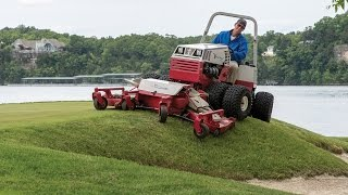 Elite Golf Course Upgrades to Better Mowing Equipment