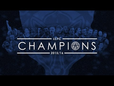 CHAMPIONS! | Leicester City players celebrate winning Barclays Premier League