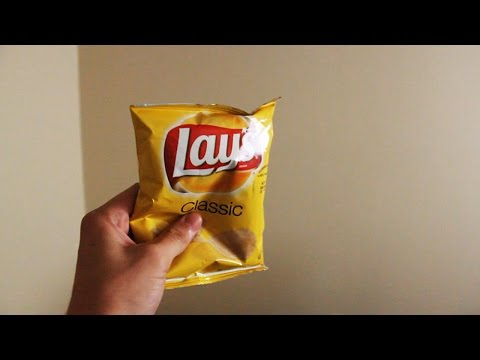 Perfect Response to an Empty Bag of Lays