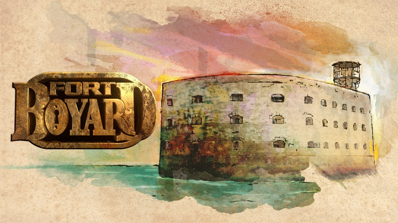Fort boyard universal hd gameplay trailer youtube - Dessin fort boyard ...