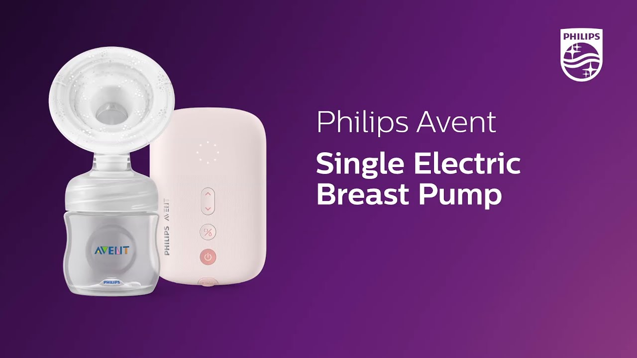 Philips Avent Single Electric Breast Pump Scf395 11 Product Video