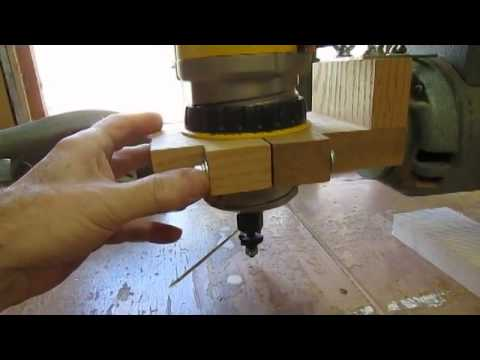 Overhead Router Support On Radial Arm Saw Youtube