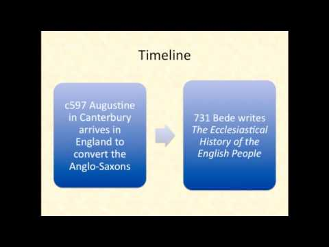 A Short Timeline of Anglo-Saxon England