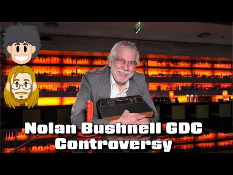 Nolan Bushnell GDC Controversy - #CUPodcast