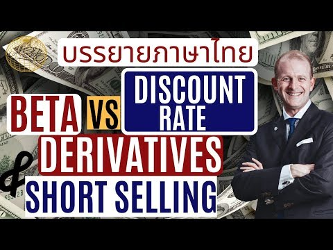 What Is a Short Stock Selling? | Derivatives Role | Discount Rate vs Appropriate Beta