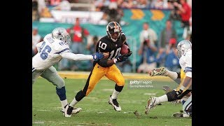 """This video is a tribute to one of the most versatile football players ever play in nfl............kordell """"slash"""" stewart!!!!!pittsburgh steelers & ch..."""