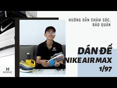 [Hướng dẫn] Dán bảo vệ đế cho siêu phẩm Nike Air max 1/97