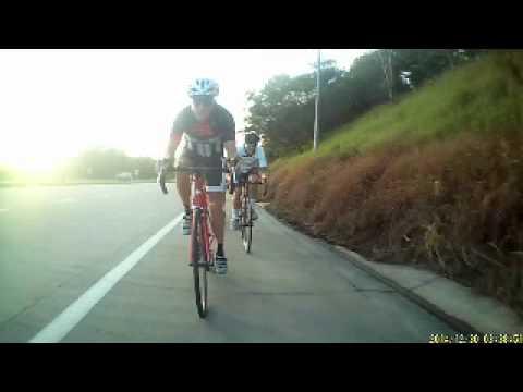 Anthony's crash TT Tuesday