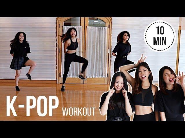 KPOP Cardio Workout! BTS (Mic Drop), Blackpink (Boombayah), Big Bang (Bang Bang Bang)