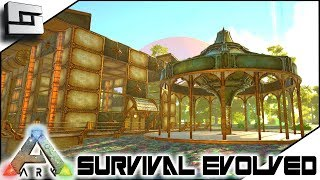 steampunk base build begins ark survival evolved s2e7 modded ark w pugnacia dinos