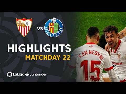 Sevilla Getafe Goals And Highlights