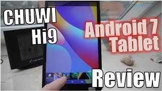 CHUWI Hi9 Test - 8.4'' Android Tablet 4/64 GB 2560 x 1600 Pixel - Ha...