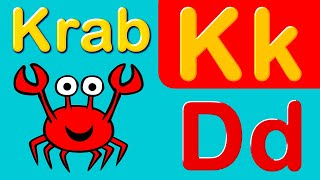 Nauka liter alfabetu i nazw zwierząt wodnych | CzyWieszJak