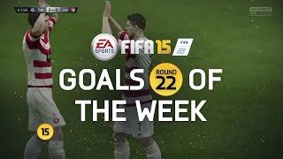 FIFA 15 - Best Goals of the Week - Round 22