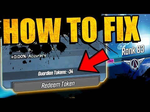 Borderlands 3: HOW TO FIX NEGATIVE GUARDIAN TOKENS BUG - Legend Rank Fix Guide (Minus Tokens Fix)