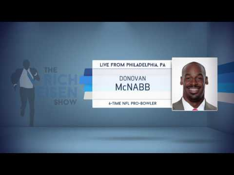 6-Time NFL Pro-Bowler Donovan McNabb on His Draft Memories, NFL Draft & More - 4/27/17