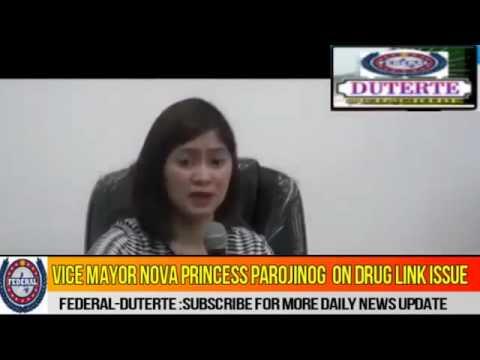 Vice Mayor Nova Parojinog Relationship with Bigtime Druglord Colangco Defend Herself About