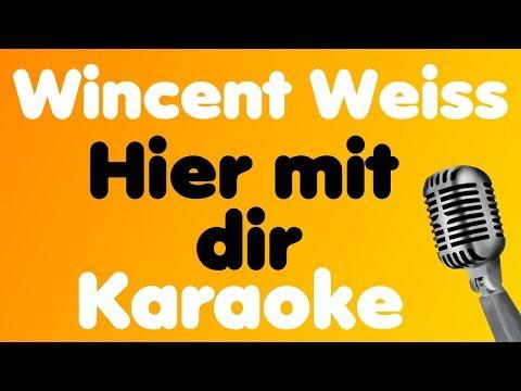 Wincent Weiss • Hier Mit Dir • Karaoke