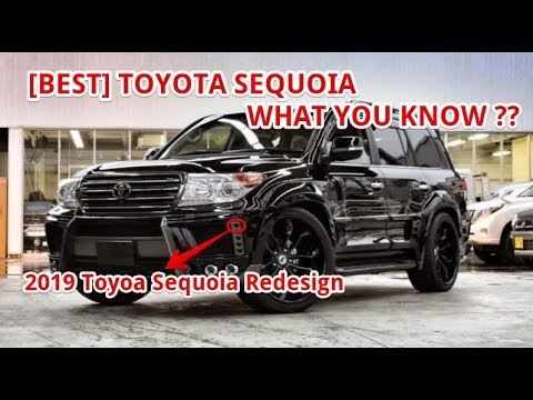Best 2019 Toyota Sequoia Redesign