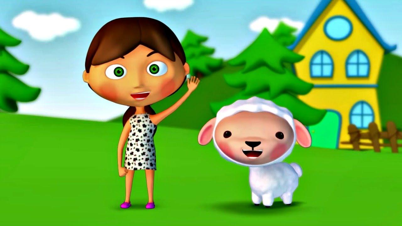 Детская песенка. Мультфильм для малышей про овечку.
