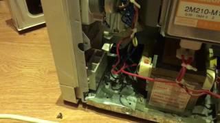 Как починить дверцу у свч