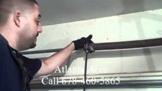 Garage Door Torsion Spring Repair - Diy Dangers Of Removing Torsion Springs