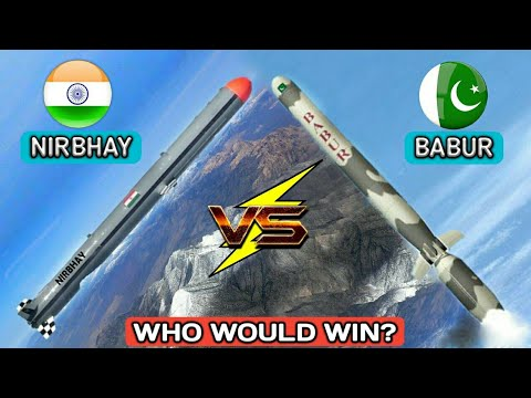 Nirbhay Vs Babur Cruise Missile System - India Vs Pakistan Missile | Who Would Win? (Hindi)