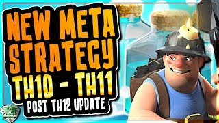 AMAZING NEW TH10 - TH11 META ATTACKS | MINERS, CLONE, FREEZE and CHERRY BOMB | Clash of Clans