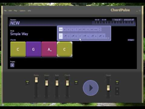 Chordpulse | Backing Tracks Software