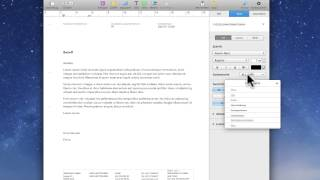 DIN Norm mit Pages am Mac