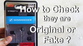 best Earphones Under 750/- INR (11 ) - Sennheiser CX 180 - Review & How to Check it Original