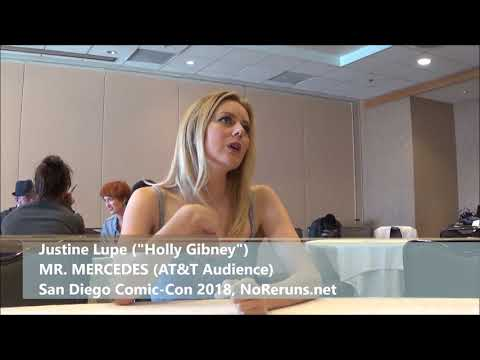 Mr. Mercedes Q&A with Justine Lupe SDCC 2018