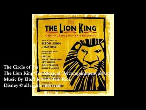 01The Circle of life The Lion King The Musical Backing Tracks