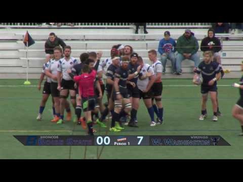 Boise State Men's Rugby vs. Western Washington University
