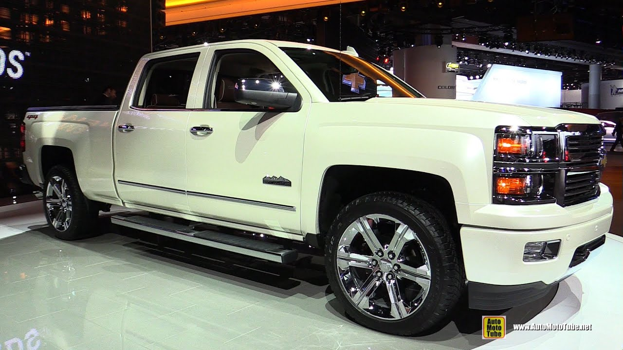 2015 Chevrolet Silverado High Country Exterior And Interior