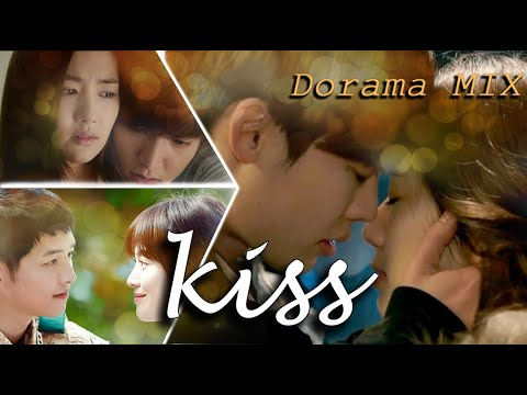 Dorama MIX💕Корейские поцелуи💋отрывки из дорам💕Lee Jung Suk, Park Min Young,  Lee Min Ho, Gong Yoo