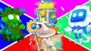 Bloons TD 6 - 4-Player Nature POWER Challenge   JeromeASF