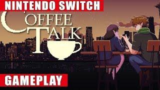 Coffee Talk Nintendo Switch Gameplay