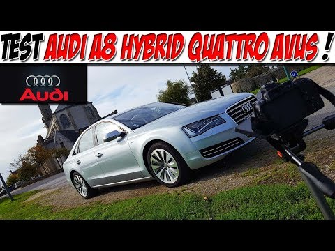 #CarVlog 29 : Test AUDI A8 HYBRID QUATTRO AVUS / VAISSEAU AMIRAL 🤑