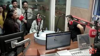 Hrithik roshan and yami gautam at fever studio